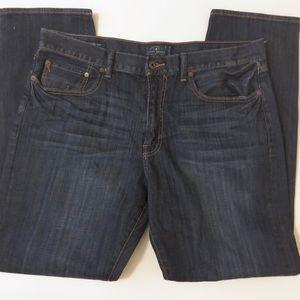 Lucky Brand Jeans Dark Heritage Slim 38x32